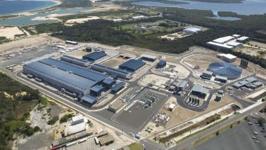 Sydney's desalination plant is one of the fund's investments.