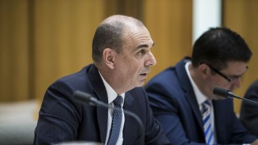 "APRA chairman Wayne Byres said the regulator was committed to a ""major data transformation program."""