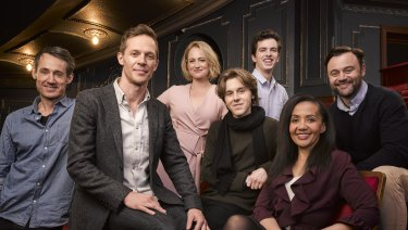 The Australian cast of The Cursed Child.