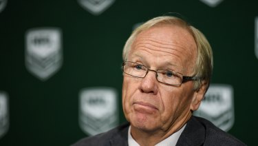 Building the mood for change: ARLC chairman Peter Beattie.