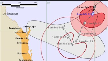 Tropical Cyclone Oma is expected to stick around until early next week, with cities bracing themselves for her arrival.