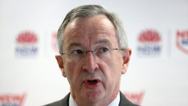 NSW Health Minister Brad Hazzard says a national fix is needed.