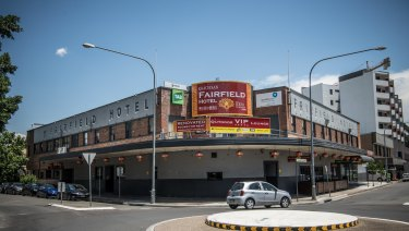 The Fairfield Hotel has applied for another seven poker machies.