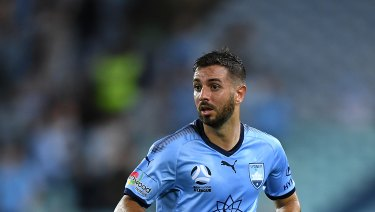 Defending the attack: Michael Zullo has backed Sydney FC's approach despite recent criticism.