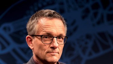Dr Michael Mosley says he is probably better known in Australia than in Britain.