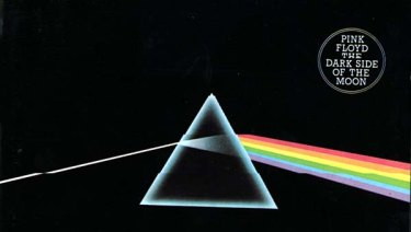 Pink Floyd's iconic concept album Dark Side of the Moon.