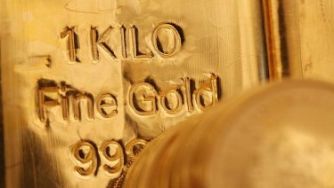 Australia's gold ... stored safely in the Bank of England's vaults in London.