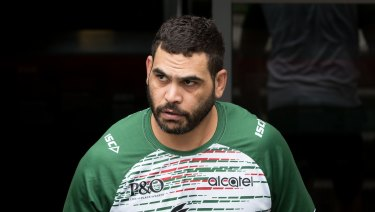 Making a stand: Greg Inglis says veterans of the game need to make sure the next generation don't make the same mistakes.