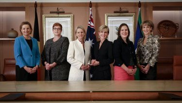 Of the six women in Malcolm Turnbull's first cabinet, one has left Parliament already, two others will leave at the election, and another resigned from the frontbench.