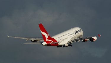 Qantas is soaring above its rivals in a time of rising fuel costs.