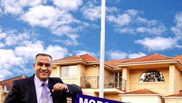 Mr Morgan worked as a real estate agent after leaving the police force.
