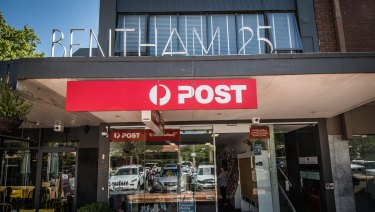 The operator of the Yarralumla post office says high rent is forcing him to walk away from the struggling business, pictured, which will close at the end of March if no buyer is found.