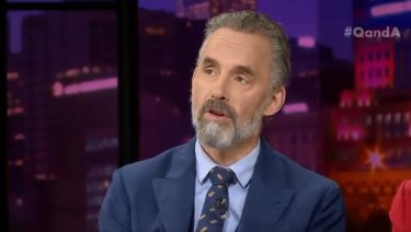 Controversial psychologist Jordan Peterson.
