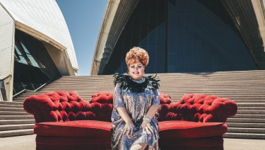 Ahead of his Mardi Gala show, Trevor Ashley is preaching a message of acceptance for the LBGTQI+ community.