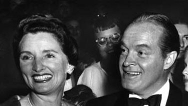 Bob Hope, seen here with wife Dolores in 1955, hosted the first Oscars telecast in 1953. It ran for 92 minutes.