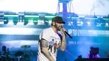 Eminem Sydney review: The rap god cements his status as one