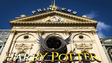Audiences for Harry Potter and the Cursed Child are the first to see the restored Princess Theatre.