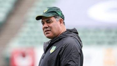 Voice of reason: Rugby league Immortal and Kangaroos coach Mal Meninga.