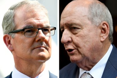 Michael Daley receives legal letter over his interview with Alan Jones