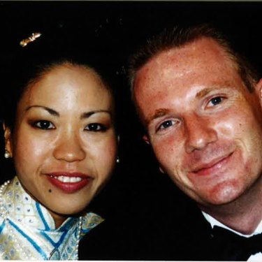 Peteris and his wife Caroline met as law students and were married in 2000.