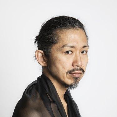 Fashion designer Akira Isogawa