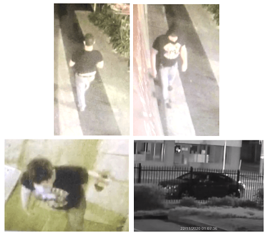 Police are searching for a man following an assault on a woman in Hawthorn earlier this week.