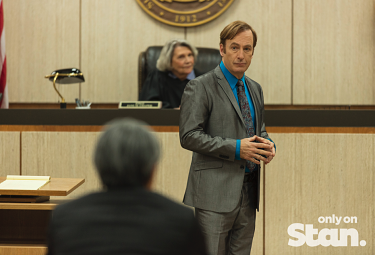 Better Call Saul on Stan.