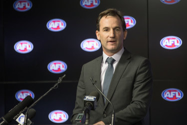 AFL general counsel Andrew Dillon weill take on additional roles.