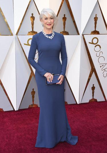 Helen Mirren at this year's Oscars.