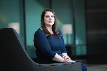 Senior team leader with infrastructure consultancy business AECOM, Sarah Caruana says women are less likely to push their accomplishments and skills when it comes to arguing for their pay.