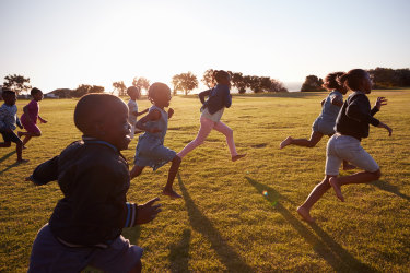 Children have an endurance level comparable to elite athletes.