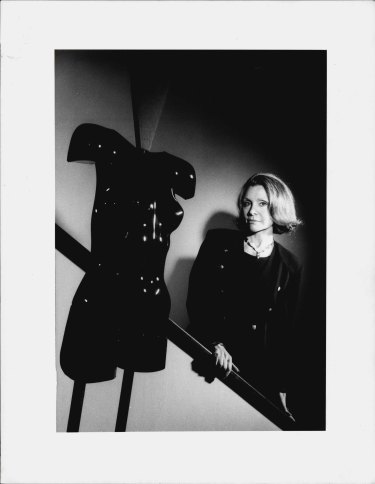 Carla Zampatti at her city factory. May 29, 1991.