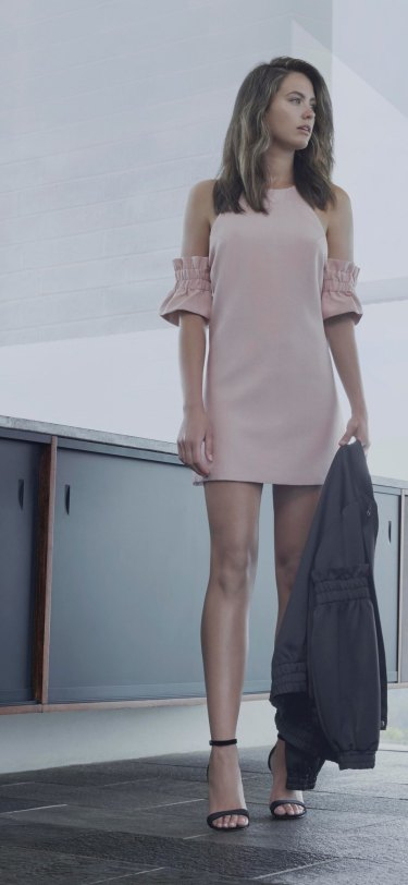 C/MEO Collective Double Take mini dress was $179 now $107.40