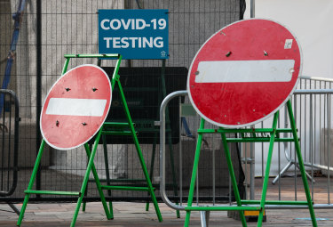 Britain's COVID-19 testing system is under huge strain.