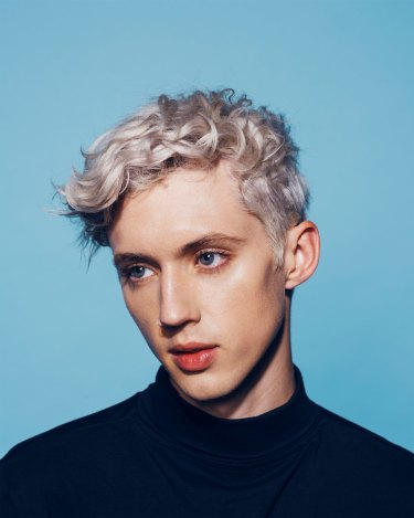 James Brickwood's portrait of 23-year-old singer Troye Sivan is a finalist in the National Photographic Portrait Prize.