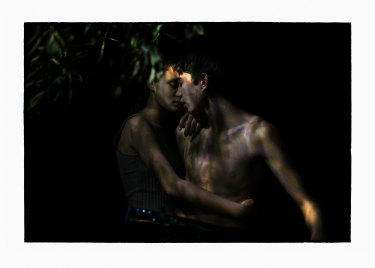 Work from Bill Henson's latest exhibition.