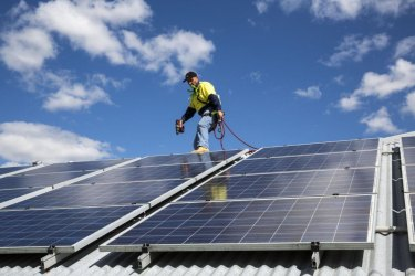 The level of rooftop solar in Australia is rising rapidly.