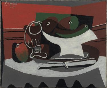 Pablo Picasso, Still life [Nature mort], 1924.