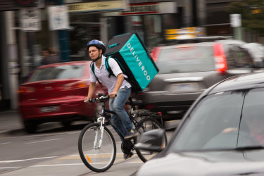 Deliveroo is looking for a new legal definition of a food delivery worker under Fair Work laws.