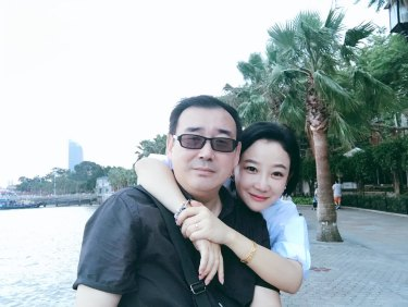 Yang Hengjun and his wife Xiaoliang Yuan.