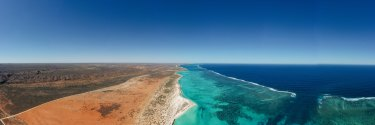 """The Exmouth Gulf vistas are beautiful for their """"very remoteness and lack of disturbance"""", the original world heritage consultative committee wrote in 2004."""