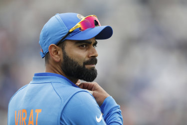 Decent player: Virat Kohli has shown the way forward.