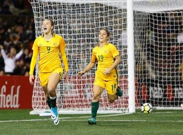 Ready to go: The Matildas begin their Asian Cup tilt this weekend.