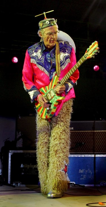 Daddy Cool guitarist Ross Hannaford.