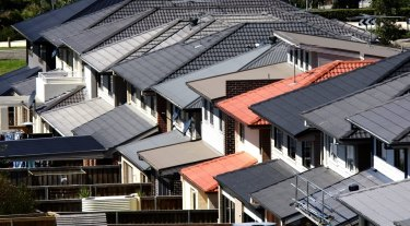 Canberra property prices dipped slightly in March, figured published on Monday show