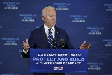 The polls have Democratic presidential candidate Joe Biden on track to win the election.