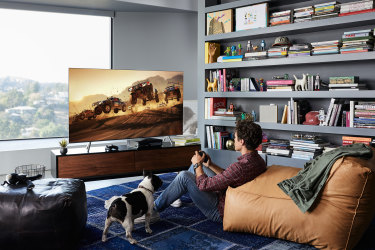 Game Mode is best for playing games on Samsung QLED's great screen.