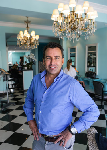 Time for a facelift: Joh Bailey has big plans for his Double Bay salon.