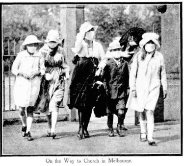 A photo in The Sydney Mail on February 12, 1919.
