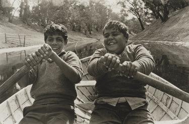 Cousins, Ralph and Jim, Brewarrina 1966.